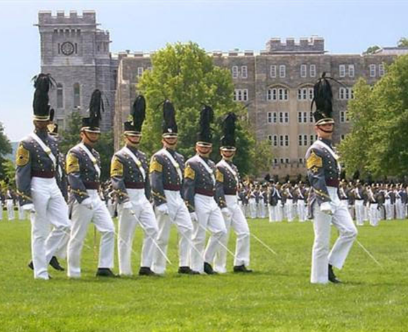Graduating class from West Point